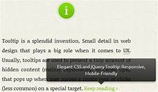 jquery mobile tooltip jquery and css3 mobile friendly tooltip tooltips