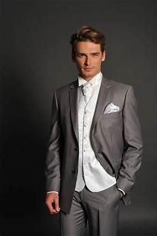 le costume gris mariage
