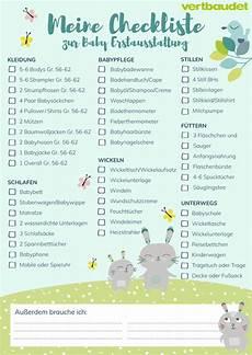 baby erstausstattung liste baby erstausstattung checkliste vertbaudet ein