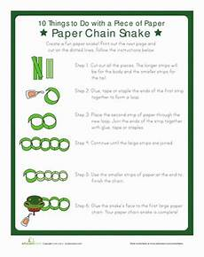 paper chains worksheets 15666 paper chain snake paper chains snake coloring pages pattern worksheet