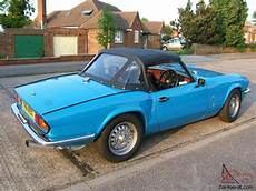 Triumph Spitfire Mk4 1500 With Overdrive 1981 Convertible