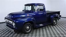 1956 ford f100 blue