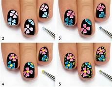 nageldesign selber machen 32 einfache nagellack muster