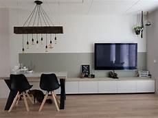 Idee Ikea Besta Tv Kast En Bank Voor Bij Eetafel Onder