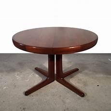 Table Ronde Scandinave Extensible 1960 Brockeur