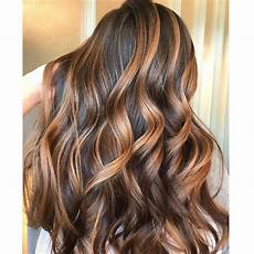 Caramel Lights Balayage Behindthechair