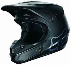 fox racing v1 matte black helmet revzilla