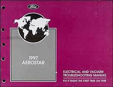 electric and cars manual 1993 ford aerostar parental controls 1997 ford aerostar electrical and vacuum troubleshooting manual