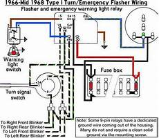 1967 vw bug headlight switch wiring thesamba beetle 1958 1967 view topic turn signal indicator flashs with high beam