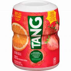 tang orange strawberry drink mix makes 6 quarts 510g 18oz