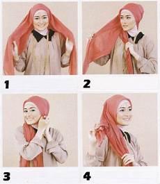 Cara Kreasi Jilbab Segitiga Tutorial Cara Memakai