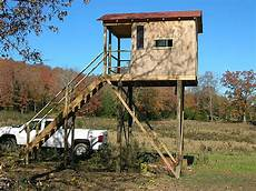 deer shooting house plans deer shooting house blueprints elevated shooting house