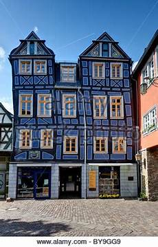 deutsches haus idstein crooked house idstein german half timbered house road