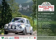Austrian Rallye Legends 2018 Offizielles Rallyeplakat