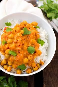 rezept mit kokosmilch kichererbsen curry mit kokosmilch 30 minuten und