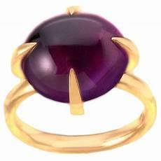 veleno pomellato pomellato amethyst veleno ring in gold at 1stdibs