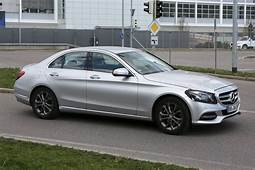 Facelifted Mercedes Benz C Class Spied