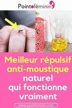 le meilleur r 233 pulsif anti moustique naturel qui fonctionne