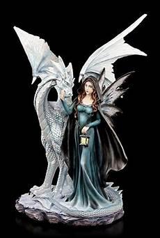 Ausmalbilder Elfen Und Drachen Elfen Figur Mit Drache Und Laterne 46 Cm Deko