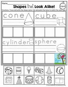 sorting shapes worksheets grade 1279 shapes cut paste and sort math math school kindergarten math y math