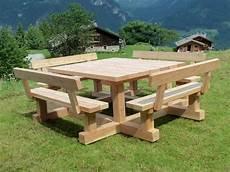 table et banc en bois pour exterieur table et banc exterieur hollandschewind