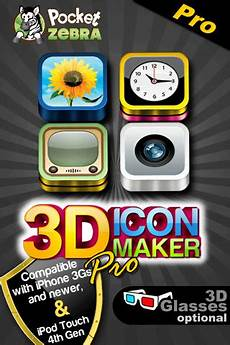 Iphone Wallpaper Maker by 3d Icon Maker Pro App For Iphone Lifestyle