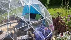 garten iglu selber bauen garden igloo pavillon gew 228 chshaus review techtest