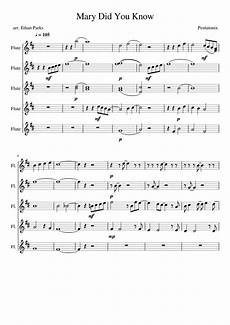 mary did you know pentatonix sheet music for flute download free in pdf or midi