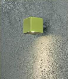 led exterior wall light in square design