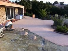 Resine Pour Terrasse En Beton Veranda Styledevie Fr