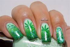 weeds inspired nails nail art gallery