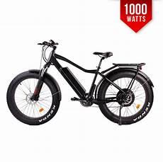 F 1000 Matte Black 1000w Mid Drive Tire Electric Bike