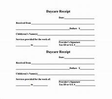 21 daycare receipt templates pdf doc free premium