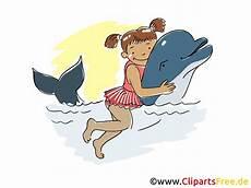 Malvorlagen Delfin Ui M 228 Dchen Spielt Mit Delfin Clipart Bild Comic