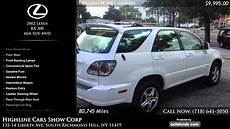 how to sell used cars 2002 lexus rx navigation system used 2002 lexus rx 300 highline cars show corp south richmond hill ny sold youtube