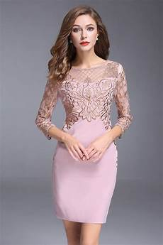 robe style ée 20 robe de soir 233 e courte bicolore dor 233 224 col illusion