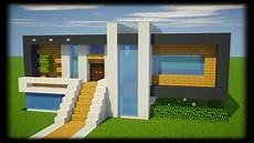 tuto maison moderne facile a faire minecraft