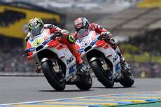 Ducati Team Riders In Gp At Le Mans Dnf