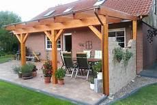 Terrassenüberdachung Leimholz Bausatz - terrassen 252 berdachung wandanbau aus holz bestellen