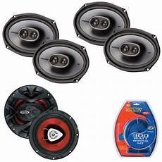 Kicker Ksc693 6x9 Quot 3 Way Coaxial Speakers W 300w