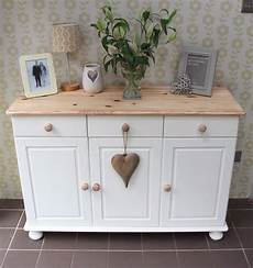 Shabby Chic Sloan Painted Pine Sideboard In Ebay