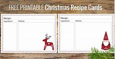 recipe card template deer ten delicious food gifts free printable recipe cards