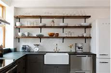 Modern Open Shelving Kitchen Ideas by Should You Use Open Shelves In The Kitchen