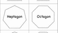 shapes polygons pentagon hexagon heptagon octagon nonagon decagon with images