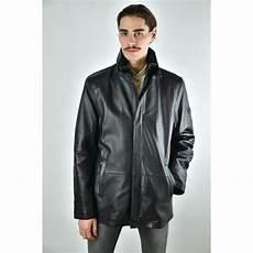 veste homme 3 4 veste 3 4 cuir homme dnr 42526 noir murphy cuir