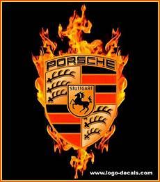 porsche decals porsche emblem vintage porsche logo