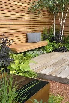 Sichtschutz Terrasse Holz Moderne Gartenentw 252 Rfe