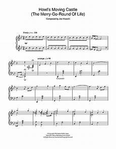 merry go round of life piano sheet music howl s moving castle the merry go round of life sheet music by joe hisaishi piano 106636