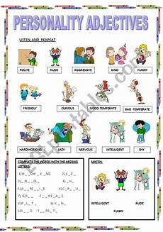 describing s personality worksheets 15903 personality adjectives esl worksheet by maestralidia