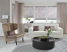 gardinen rollos wohnzimmer wohnzimmer plissee hellbraun vielf 228 ltige plissees